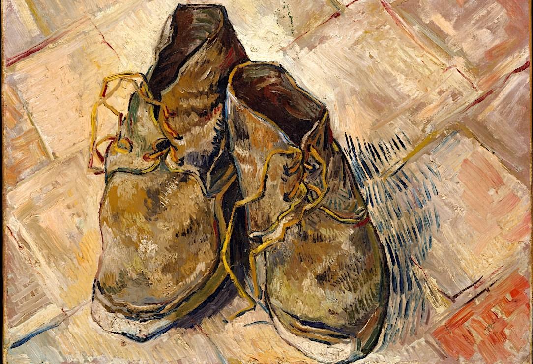 van gogh still life chaussures