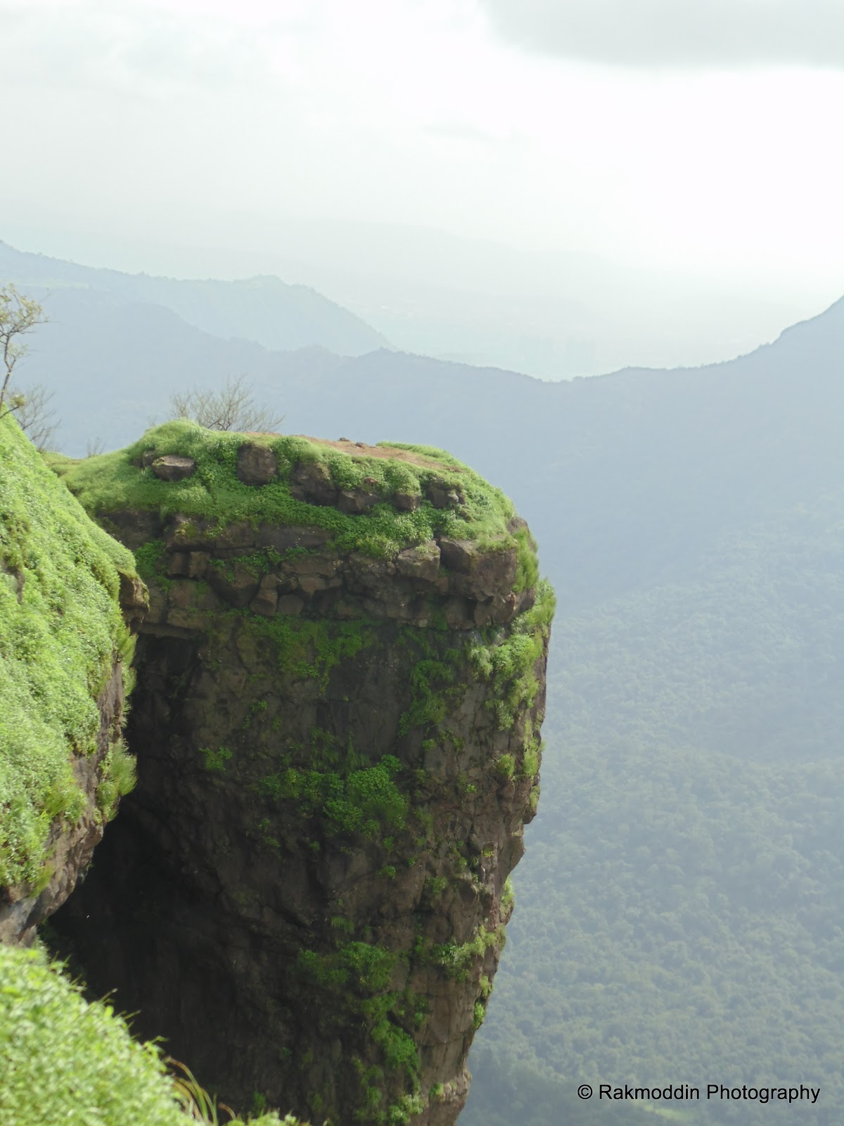 Malang point in Matheran hill station near pune and mumbai