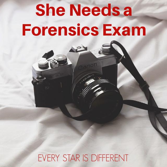 She Needs a Forensics Exam