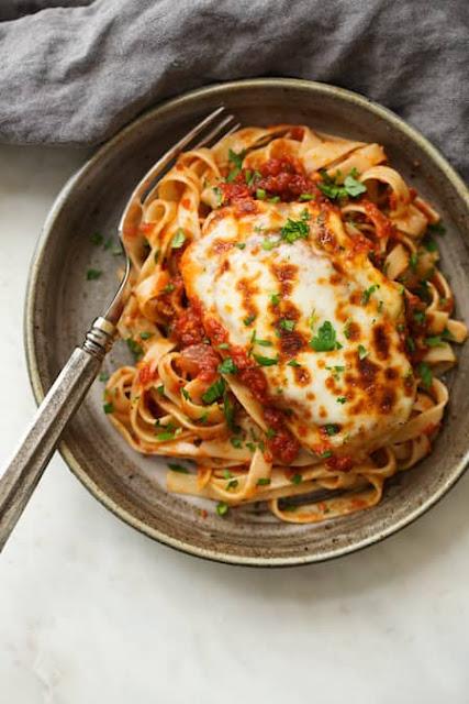 Recette du Poulet Mozzarella à la Sauce Tomate