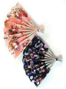 cara membuat origami kipas tangan