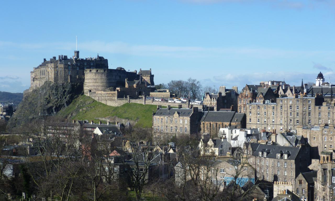 3. Castelo de Edimburgo (Escócia)