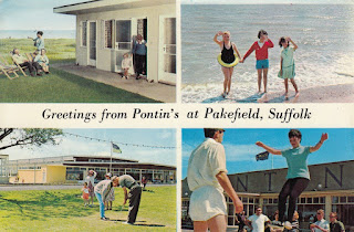 Greetings from Pontin's at Pakefield, Suffolk, Photo Precision Limited. PLC13118. Postally used on 28 Aug 1969