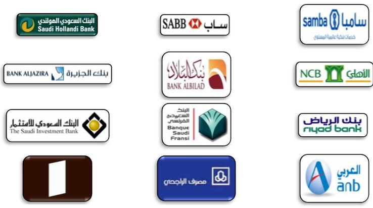 البنوك السعودية: البنوك السعودية ( جميع البنوك السعودية المعتمدة )