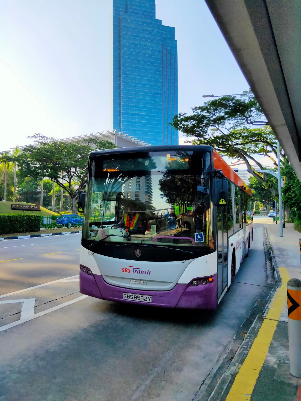 singapore bus transit