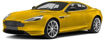 Aston Martin DB9 Exterior: Front grille, carbon fibre