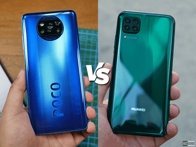 Huawei Nova 7i vs POCO X3 NFC Specs Comparison