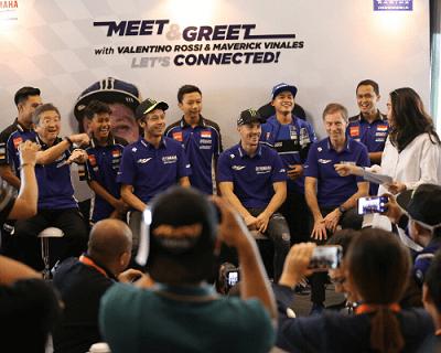 Kunjungan Valentino Rossi dan Maverick ke Indonesia ...