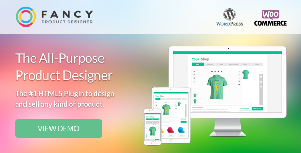 Fancy Product Designer v4.0.6 - WooCommerce plugin