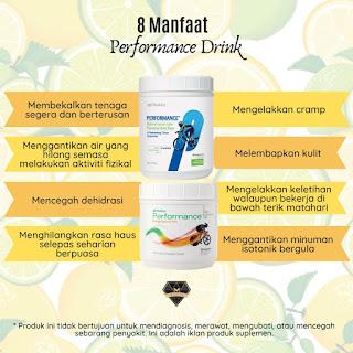 Manfaat Performance Drink Shaklee