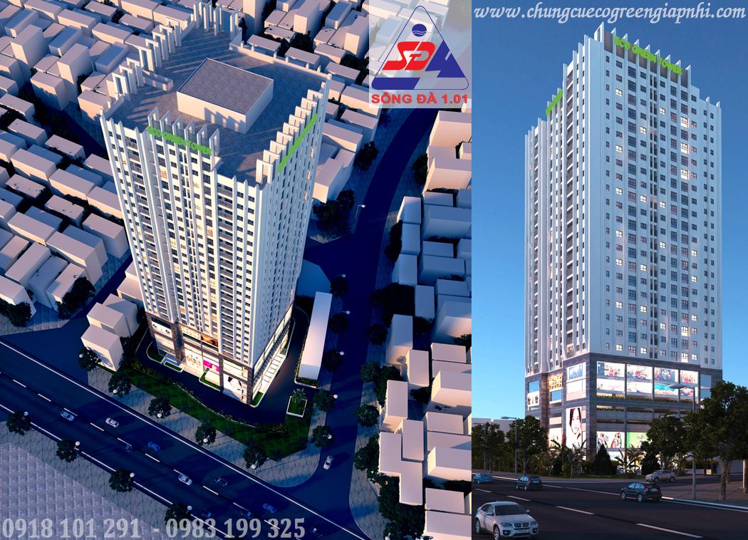 Chung cư Eco Green Tower số 1 Giáp Nhị