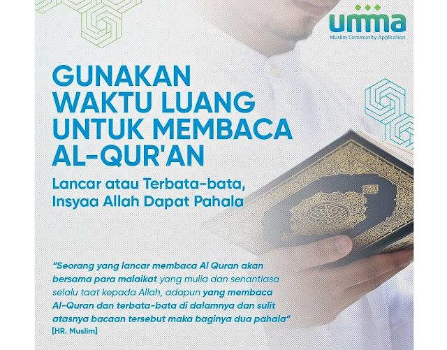 Perbaiki Bacaan Al-Qur'an dengan Fitur di Umma Ramadhan