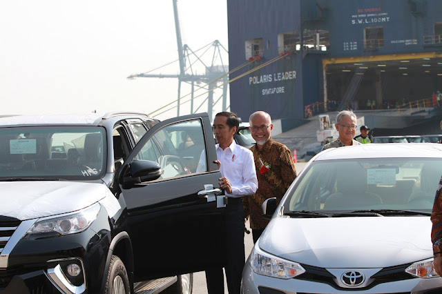 ekspor toyota indonesia