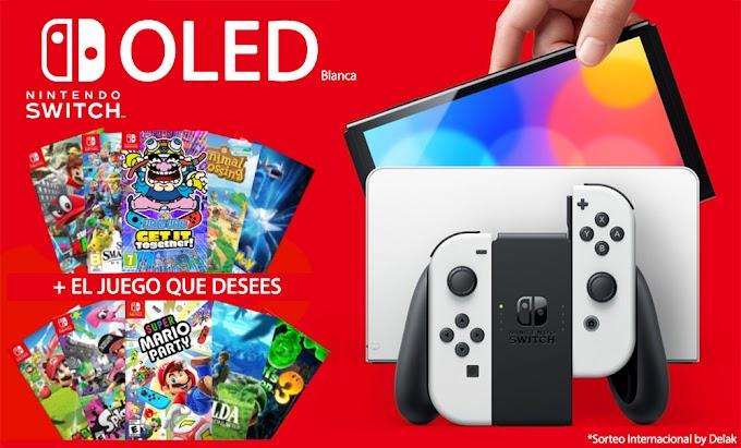 Sorteio de um Nintendo Switch OLED + Jogo