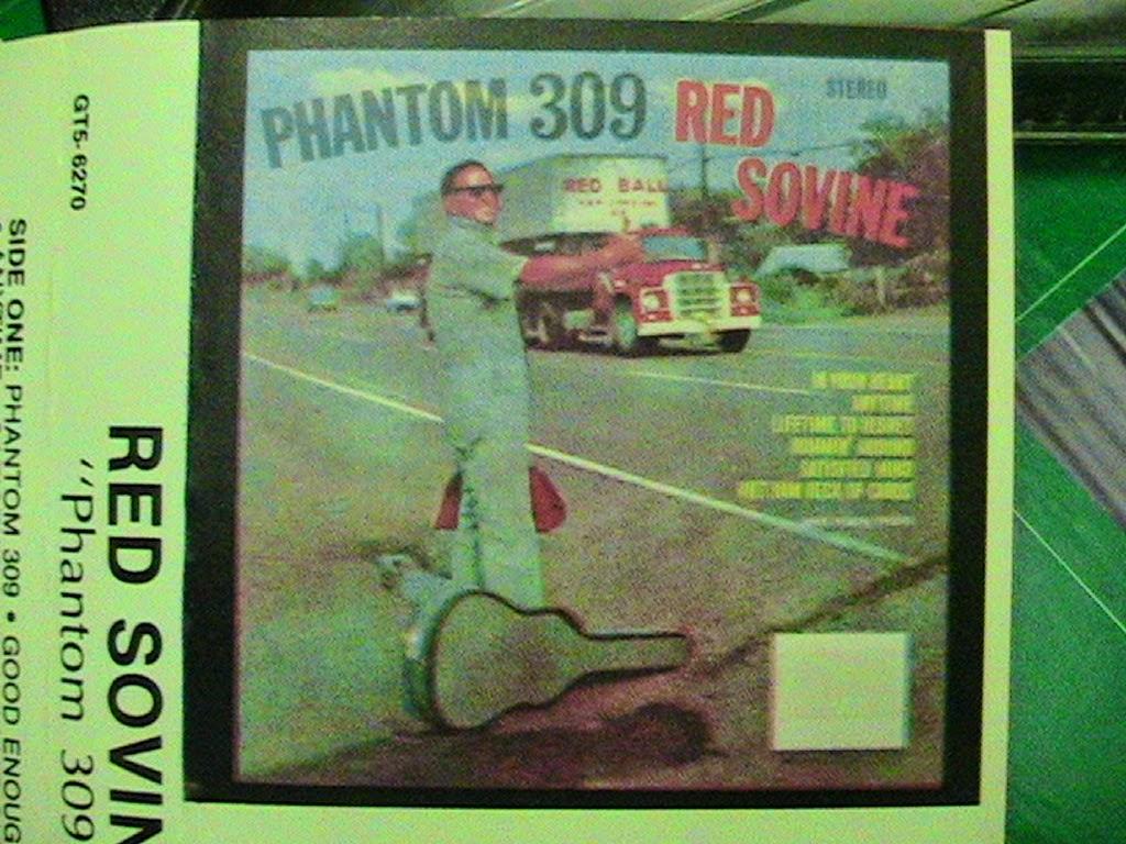 DOWN UNDERGROUND: RED SOVINE - Phantom 309 Cassette 75 w 7 w