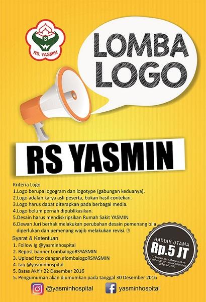 Lomba Logo Design RS. Yasmin Banyuwangi Untuk Kamu Yang Jago Design