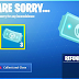 How to refund items in Fortnite