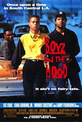 Póster película Los chicos del barrio