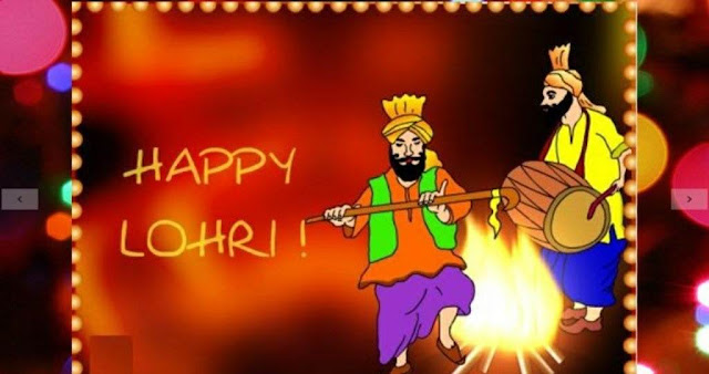 Happy Lohri Wishes quotes Status in Hindi & Punjabi