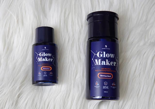 somethinc glow maker toner review