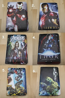 leather case tablet iron man