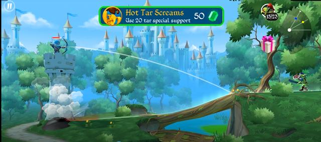 Tiny Archers - Gameplay Walkthrough (iOS, Android)