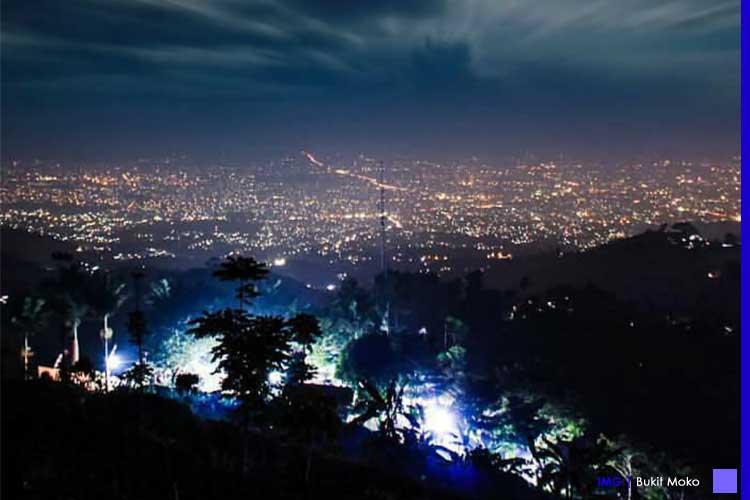 Wisata Bukit Moko Bandung - Lautan Bintang Yang Eksotis