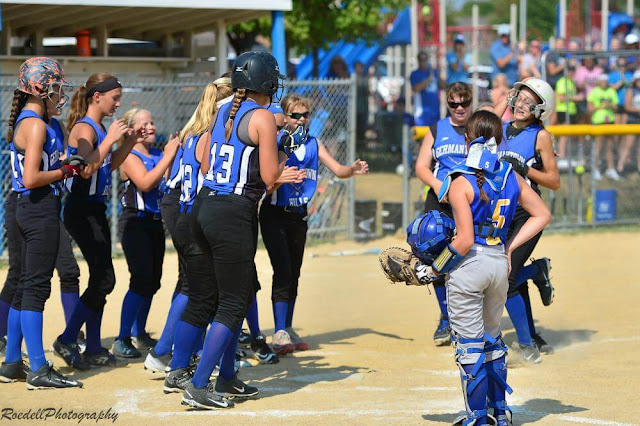 Germantown Hills Middle School wins Softball Sectional Championship, Metamora Herald