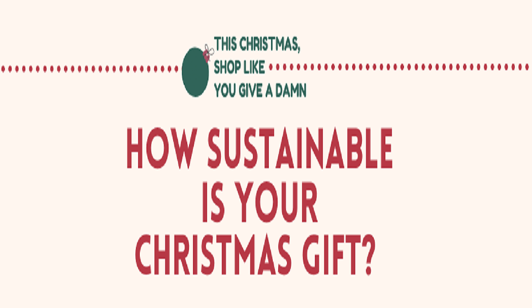 How Sustainable Are Your Christmas Gifts? #infographic