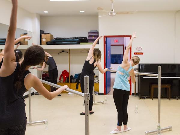 Ballet class sound intimidating? Consider ballet fitness.
