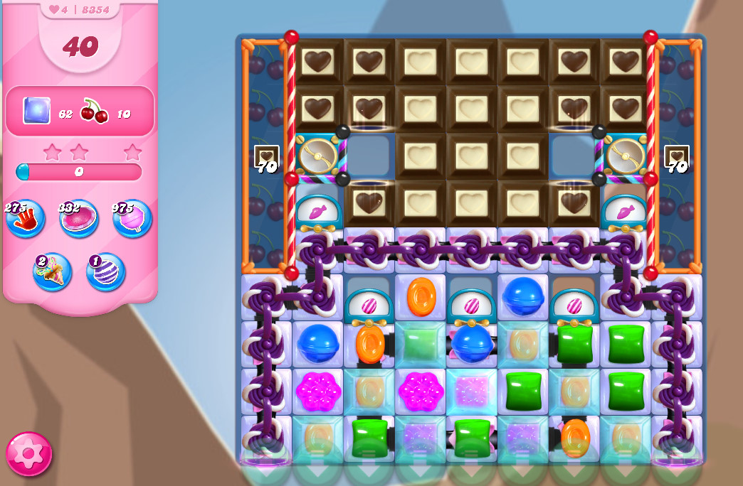 Candy Crush Saga level 8354