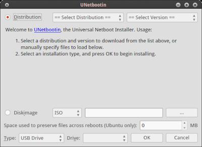 Cara Menggunakan UNetbootin di Linux