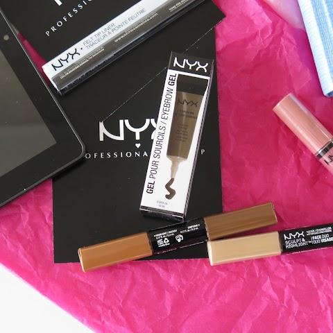 NYX Eyebrow gel 03 brunette antakių želė