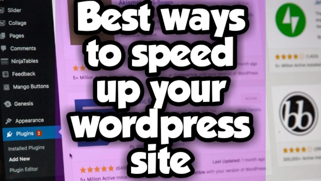 best-ways-to-speed-up-wordpress-site