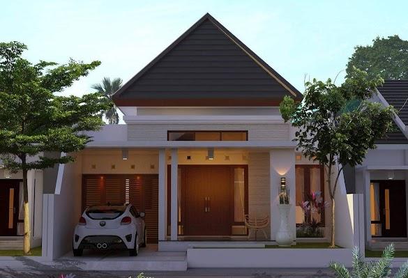Inspirasi Terpopuler Desain Rumah Minimalis 1 Lantai 2020