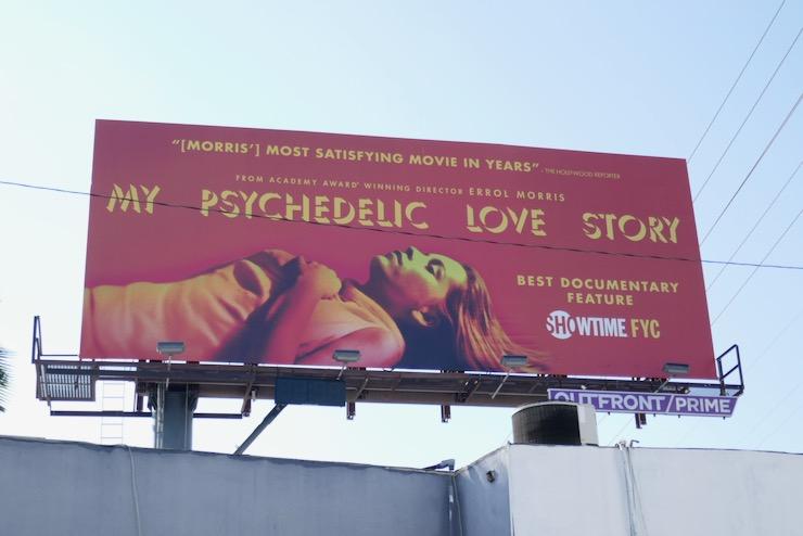 My Psychedelic Love Story FYC billboard
