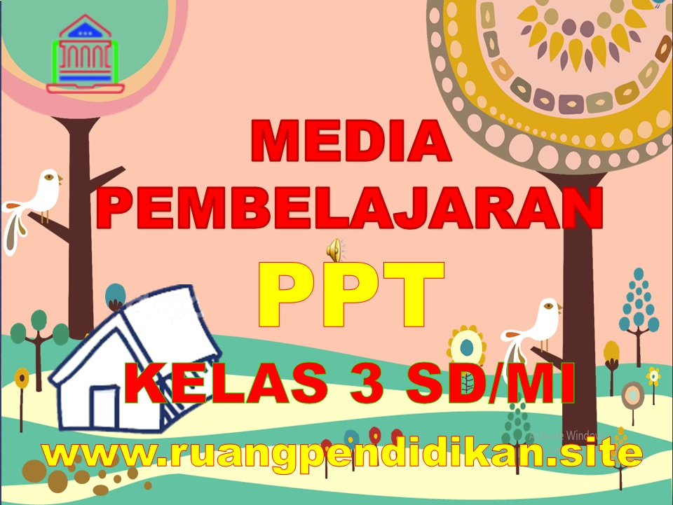 Media Ajar Power Point Kelas 3 SD/MI