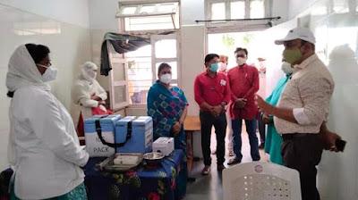 Madhya Pradesh News: Shahdol विधायक एवं कलेक्टर ने जनपद बुढार के विभिन्न कोविड केयर सेंटरों का किया अवलोकन