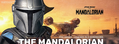 The Mandalorian Legends in 3D ½ Scale Star Wars Resin Bust by Diamond Select Toys