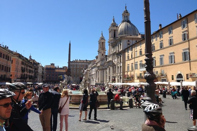 Passeios de bicicleta por Roma