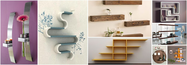 15 Wonderful Shelves For Storage And Decoration