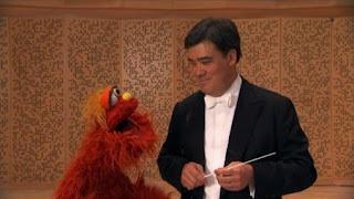 Murray, the people in your neighborhood Conductor Alan Gilbert, New York Philharmonic, Sesame Street Episode 4324 Trashgiving Day season 43