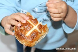 Hot Cross Buns, Catholic Joy by Bernice Zieba