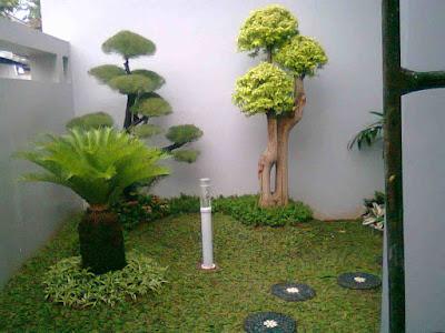 Jasa Tukang taman lamongan gambar Taman minimalis