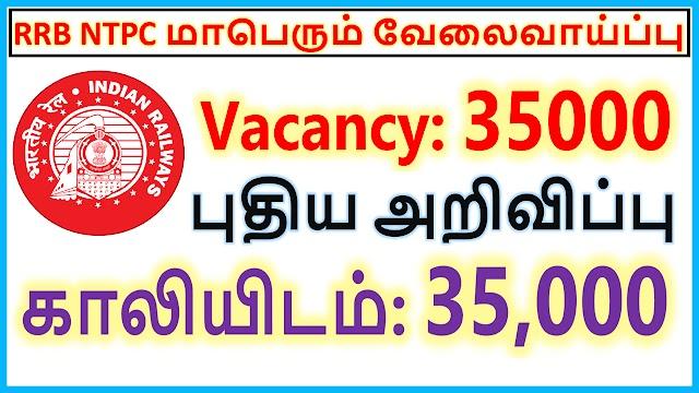 RRB NTPC Recruitment 2020 | Vacancy: 35000 | rrb ntpc application status 2020