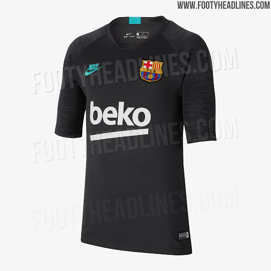 release date 891ad c7a4a Barcelona 19-20 Champions League Training Kit Leaked ...