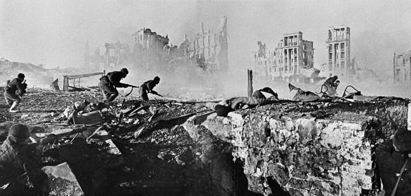 Στρατιώτες του Κόκκινου Στρατού στο Στάλινγκραντ. Φεβρουάριος 1943