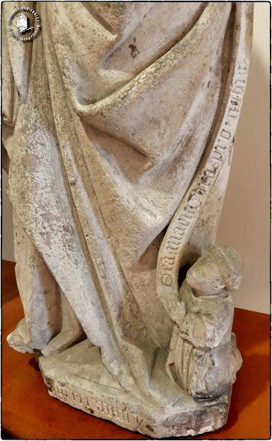 EPINAL (88) - EPINAL (88) - Musée départemental d'art ancien et contemporain : Vierge à l'Enfant (XVe siècle)