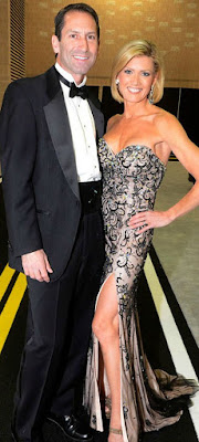 Cecily Tynan with her husband