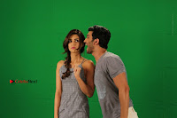 Kriti Sanon & Sushant Singh Rajput Pos During Promotional Interview For Raabta .COM 0030.jpg